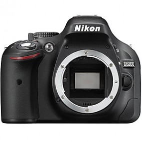 Nikon D5200 Black SLR Body Only Camera
