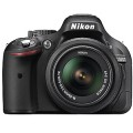 Nikon D5200 Black SLR Kit w/18-55mm lens Camera